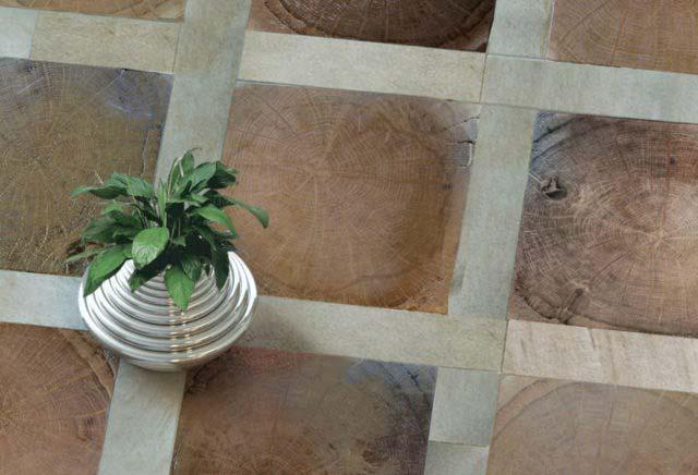 Pavimento in legno artigianale